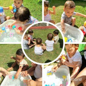 Movimento de pinça a partir do nono mês, a criança já começa explorar a coordenação motora fina.